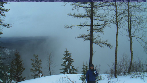 Apgar Lookout Webcam with Jake and Billy