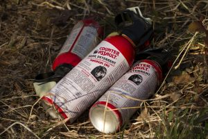 Bear spray for grizzly bears