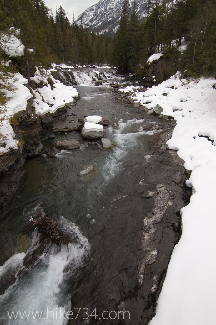McDonald Creek in March