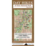 Day Hikes of Zion National Park Map Guide