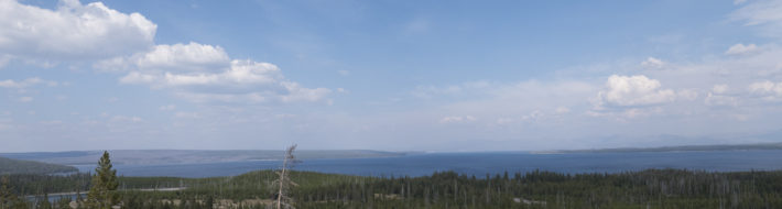 Yellowstone Lake Overlook