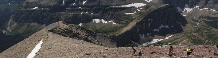 Climbing Mt Siyeh